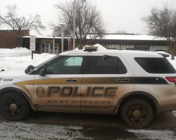 2015-02-12 East Windsor Police Cruiser at Middle School_77651