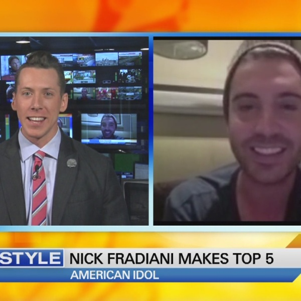 Nick Fradiani interview with Ryan Kristafer - American Idol on CT Style_108065