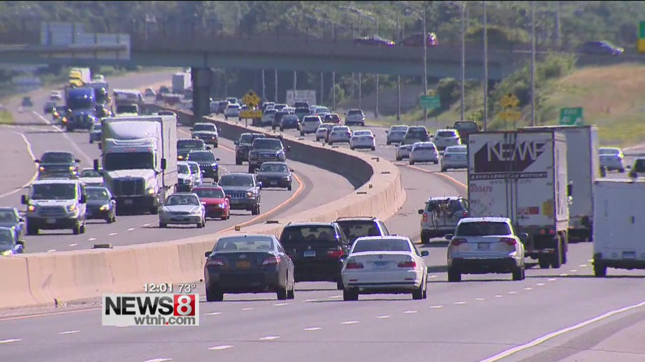 Connecticut highways busy with holiday travelers