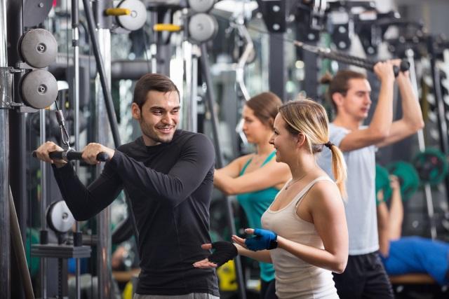 Health Club Gym Generic Workout_222183