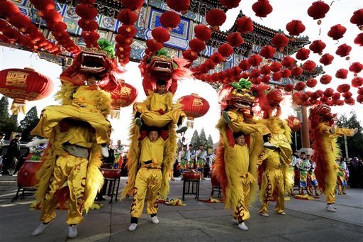 APTOPIX China Lunar New Year_232871