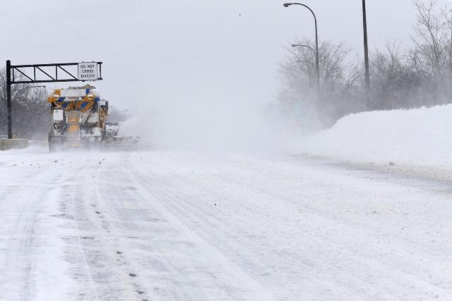 highway snow plow_70814