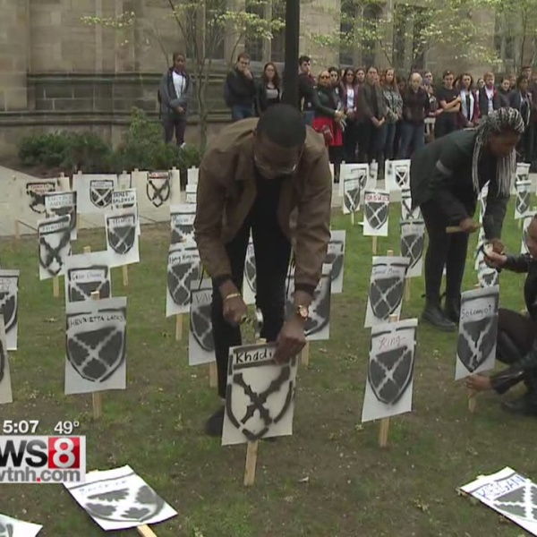 Students express anger at Yale's decision on Calhoun College