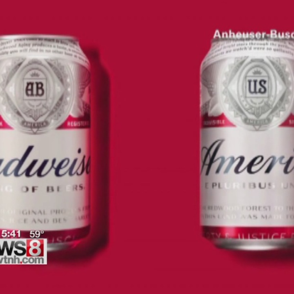 "Budweiser becomes ""America."" Drink up. Or not."