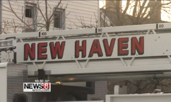 New Haven Fire Department engine truck_74437