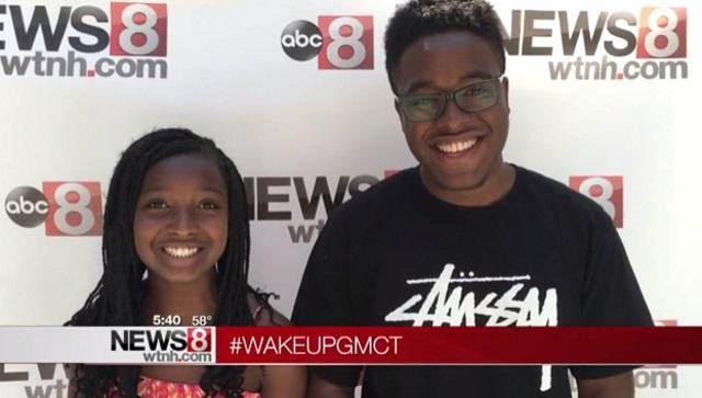 #WakeUpGMCT Melani and Jared_300021