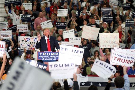 APTOPIX GOP 2016 Trump_306326