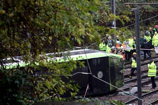Britain Tram Derailed_354851
