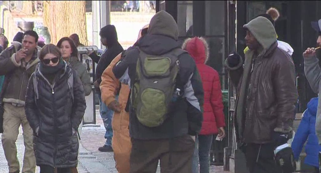 New Haven officials activate the severe cold weather plan