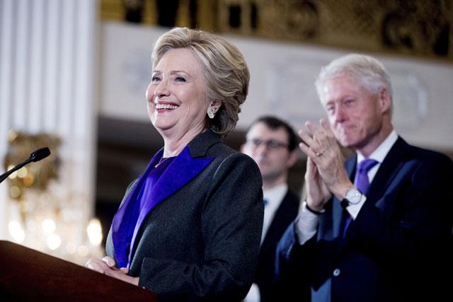 Hillary Clinton concedes_370582