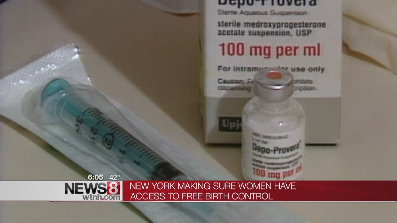 NY gov requires insurance companies to cover contraception