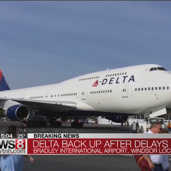 Delta returning to normal after outage causes ground stop
