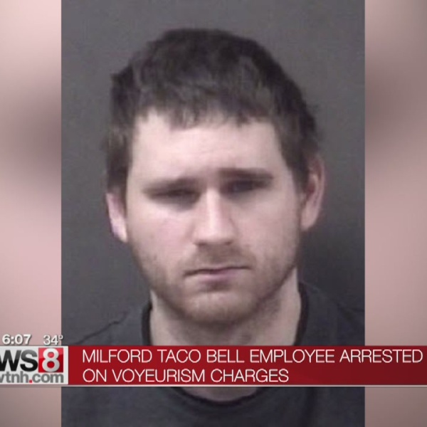 Milford Taco Bell employee accused of recording co-worker in restroom