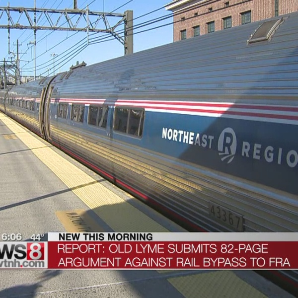 Old Lyme submits argument to Federal Railroad Association
