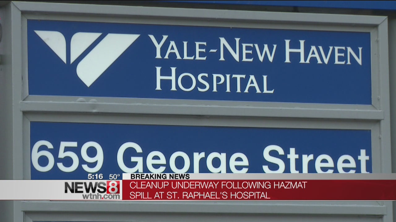 Hazmat situation reported at St. Raphael campus of Yale-New Haven Hospital