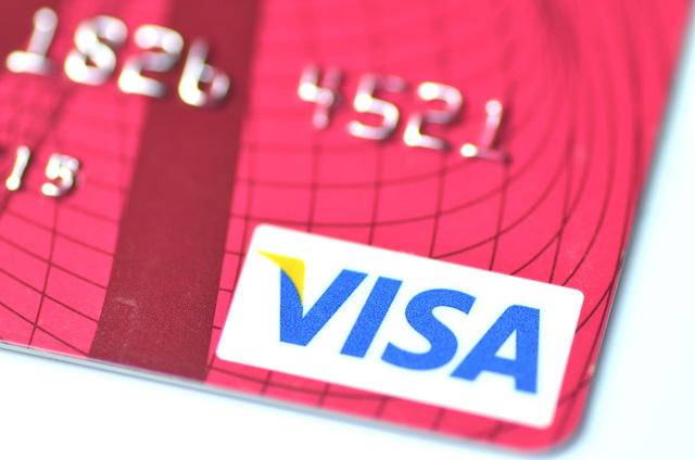 Closeup of VISA credit card_346262
