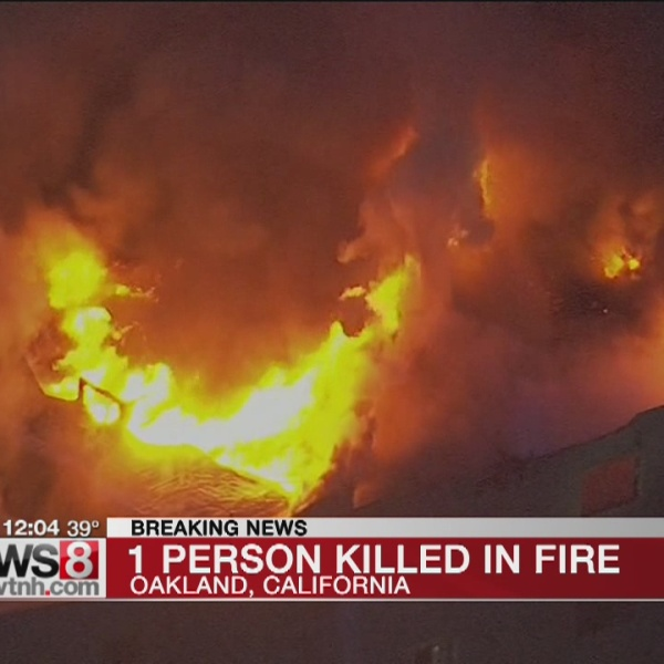 Northern California firefighters battle residential blaze
