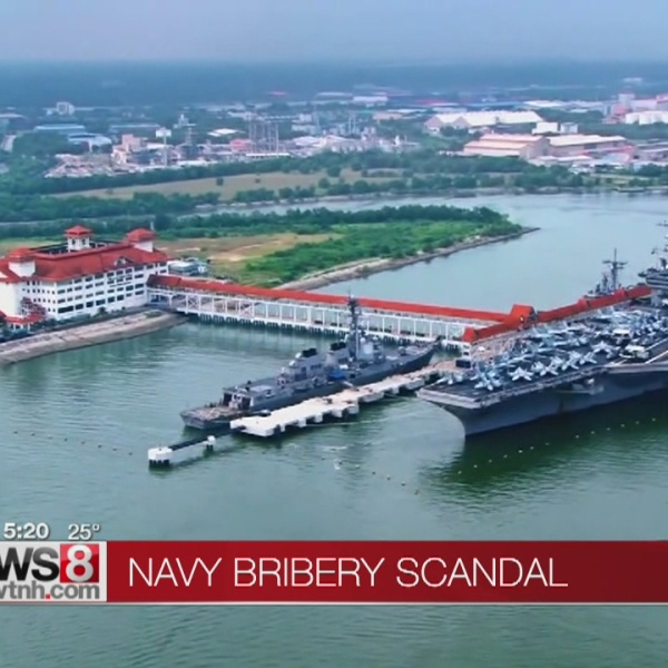 Feds: Ex-Navy officer important role in bribery scandal