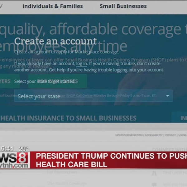 Trump to GOP: Pass health care bill or seal your fate