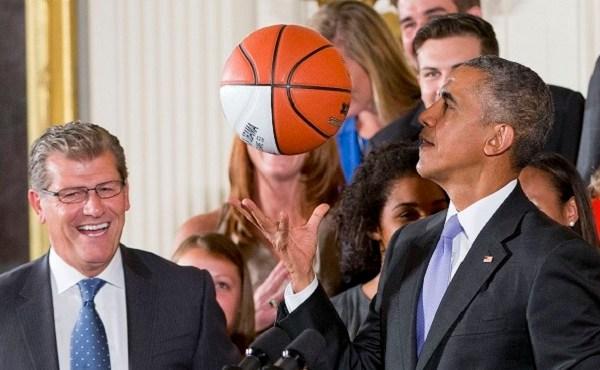 Barack Obama, Geno Auriemma_416851