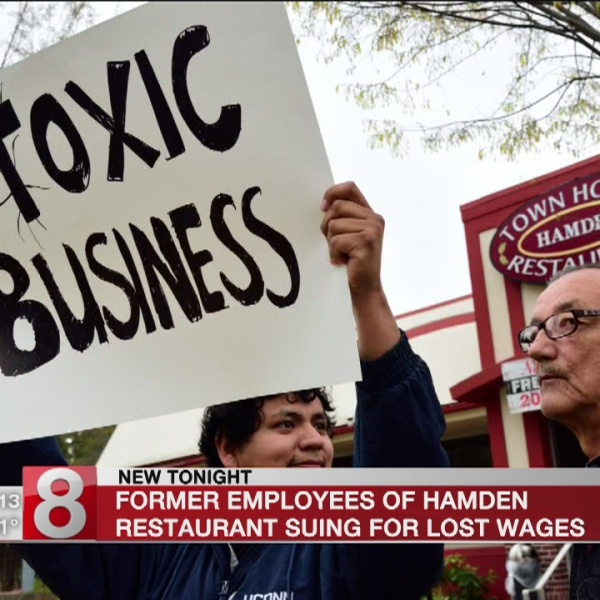 Workers Sue Hamden Town House Restaurant For Unpaid Wages