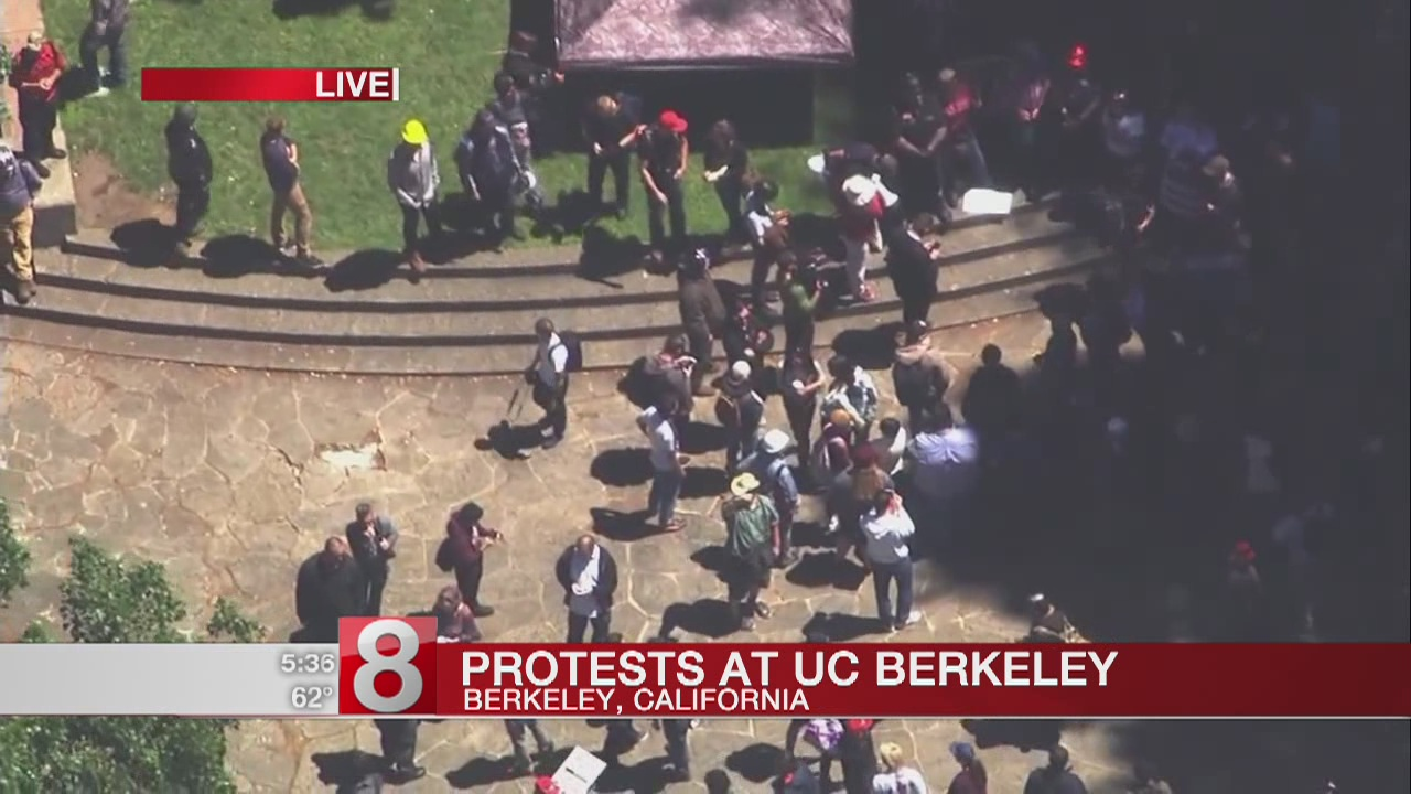 Coulter critics stage second rally in Berkeley