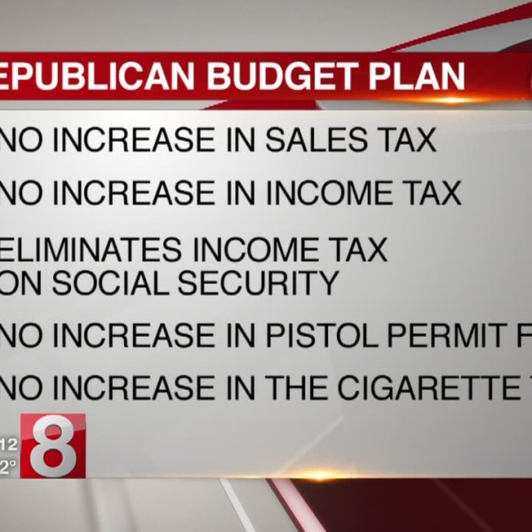 Republicans propose 'no tax hike' budget plan