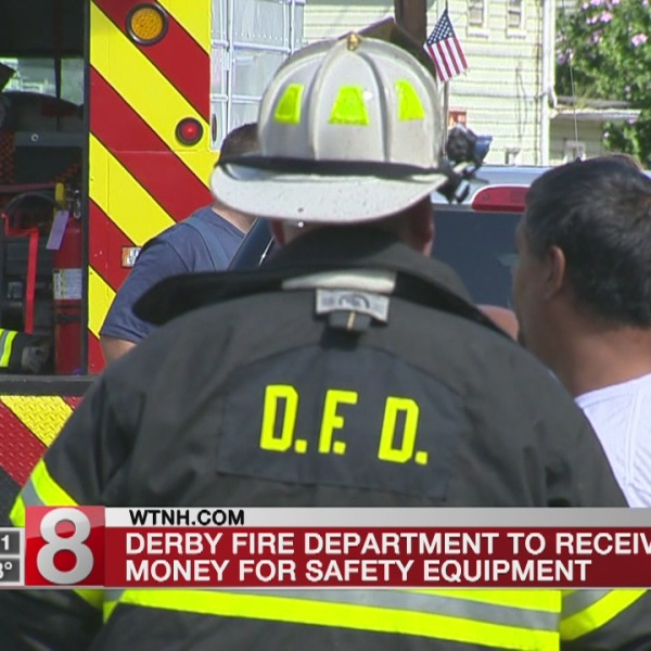 $50,000 in federal funding for Derby Fire Department