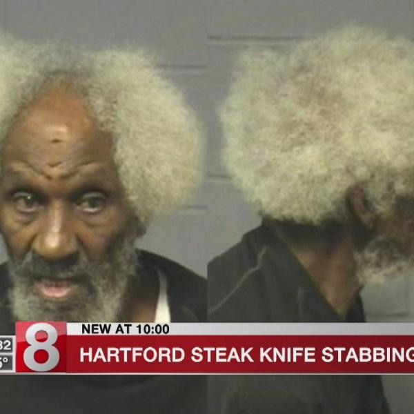 Hartford steak knife stabbing arrest