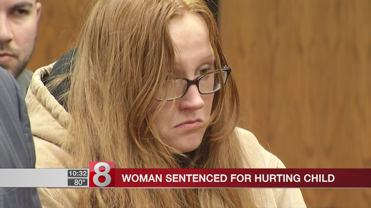 Woman sentenced for hurting child