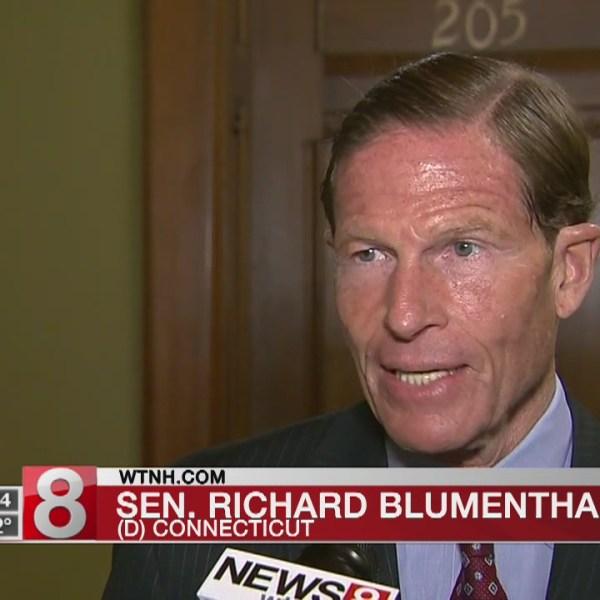 Richard Blumenthal on terror attacks