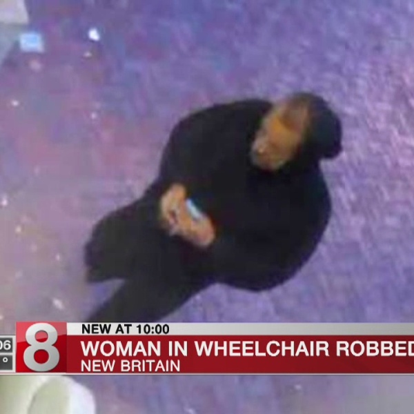 New Britain police looking for man who stole money from woman in wheelchair