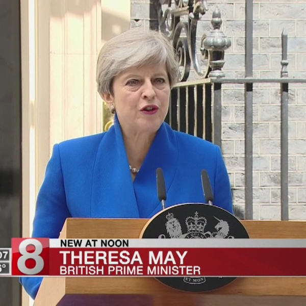 Wounded May vows to stay as UK PM; says Brexit will go on