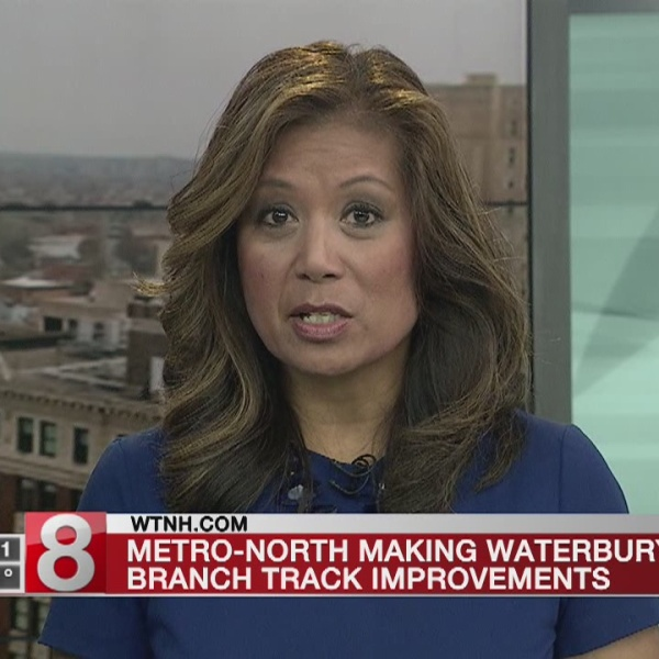 Metro-North to improve Waterbury tracks, buses to substitute trains