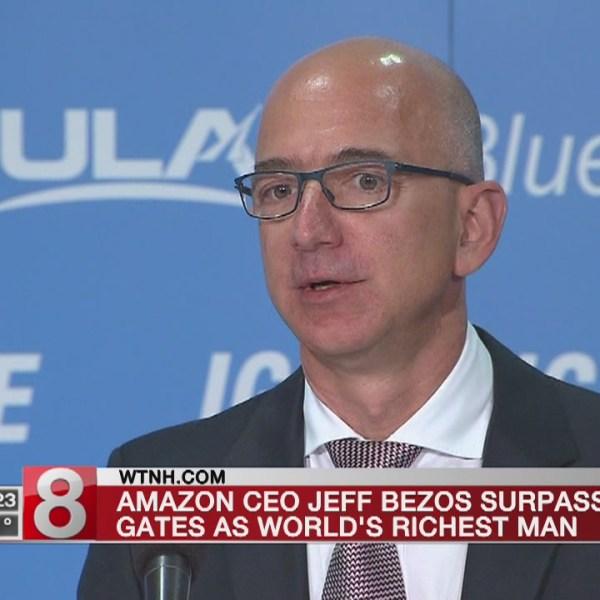 Amazon's Jeff Bezos officially world's richest man