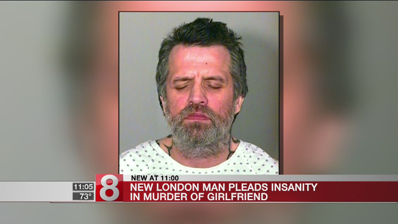 New London man claims insanity for 2015 murder