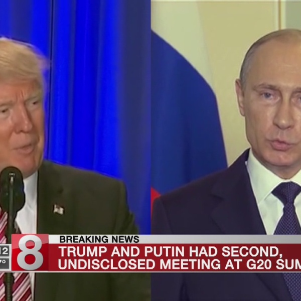 Trump held previously undisclosed meeting with Putin at G-20, White House says
