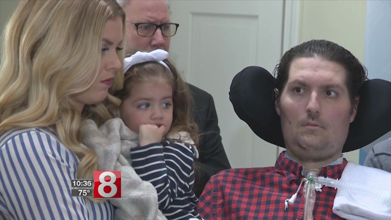 Man who inspired ice bucket challenge is back in hospital