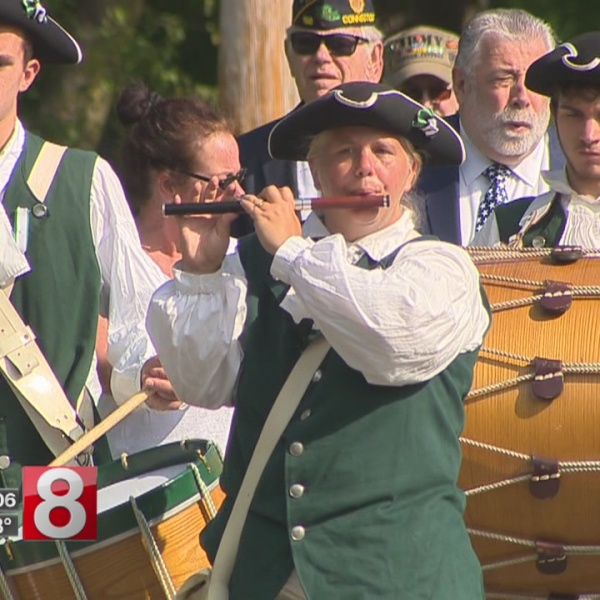 Revolutionary War prisoners with smallpox remembered in Milford