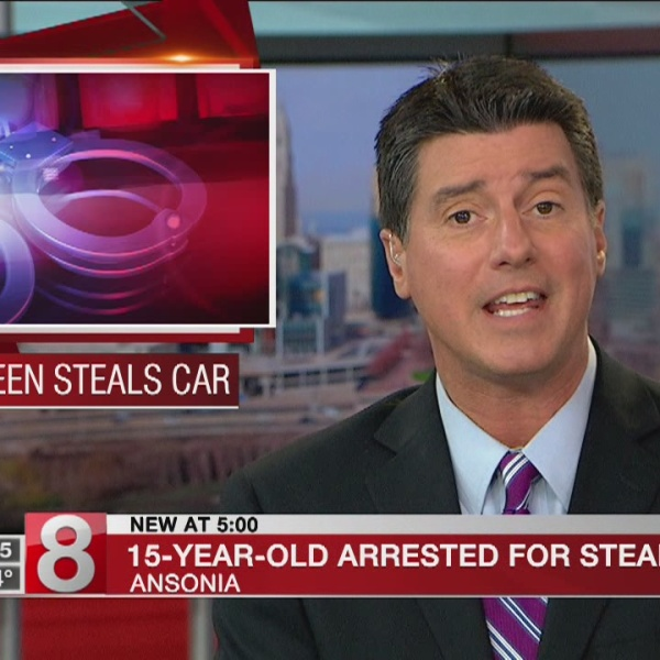 Teen accused of stealing City of Ansonia vehicle