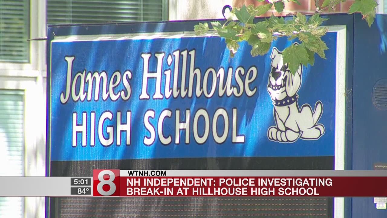 Vandals break into Hillhouse High School