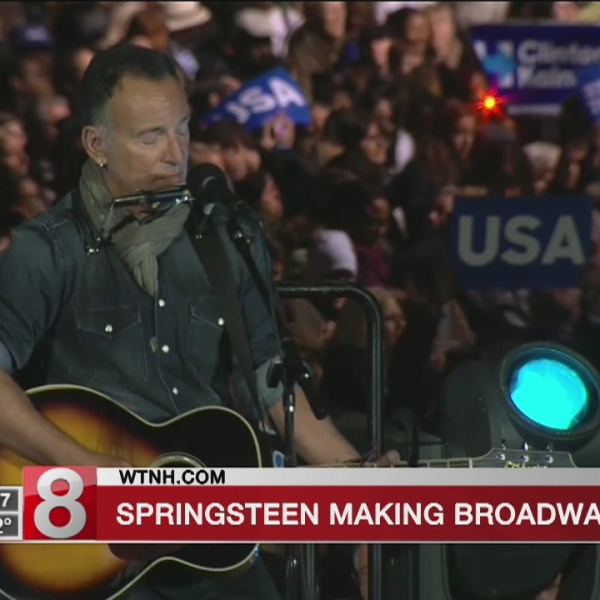 Bruce Springsteen plans a series of Broadway fall concerts