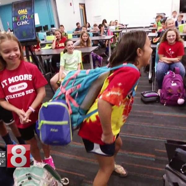 Backpack dangers: How heavy is too heavy?