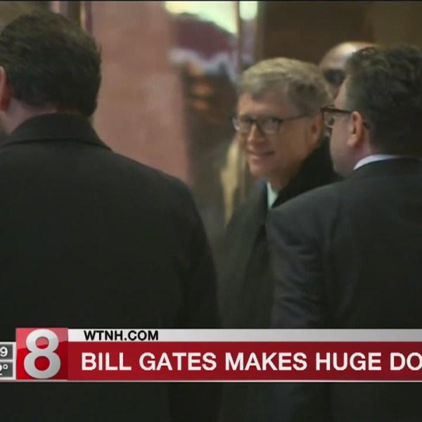 Bill Gates makes biggest donation since 2000