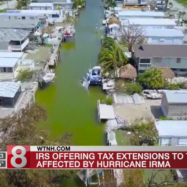 IRS giving extensions to some impacted by Hurricane Irma