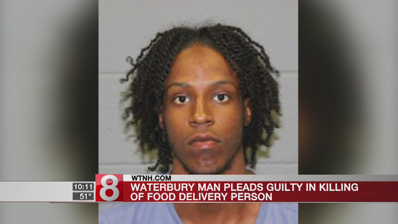 Waterbury man pleads guilty in killing of food delivery person