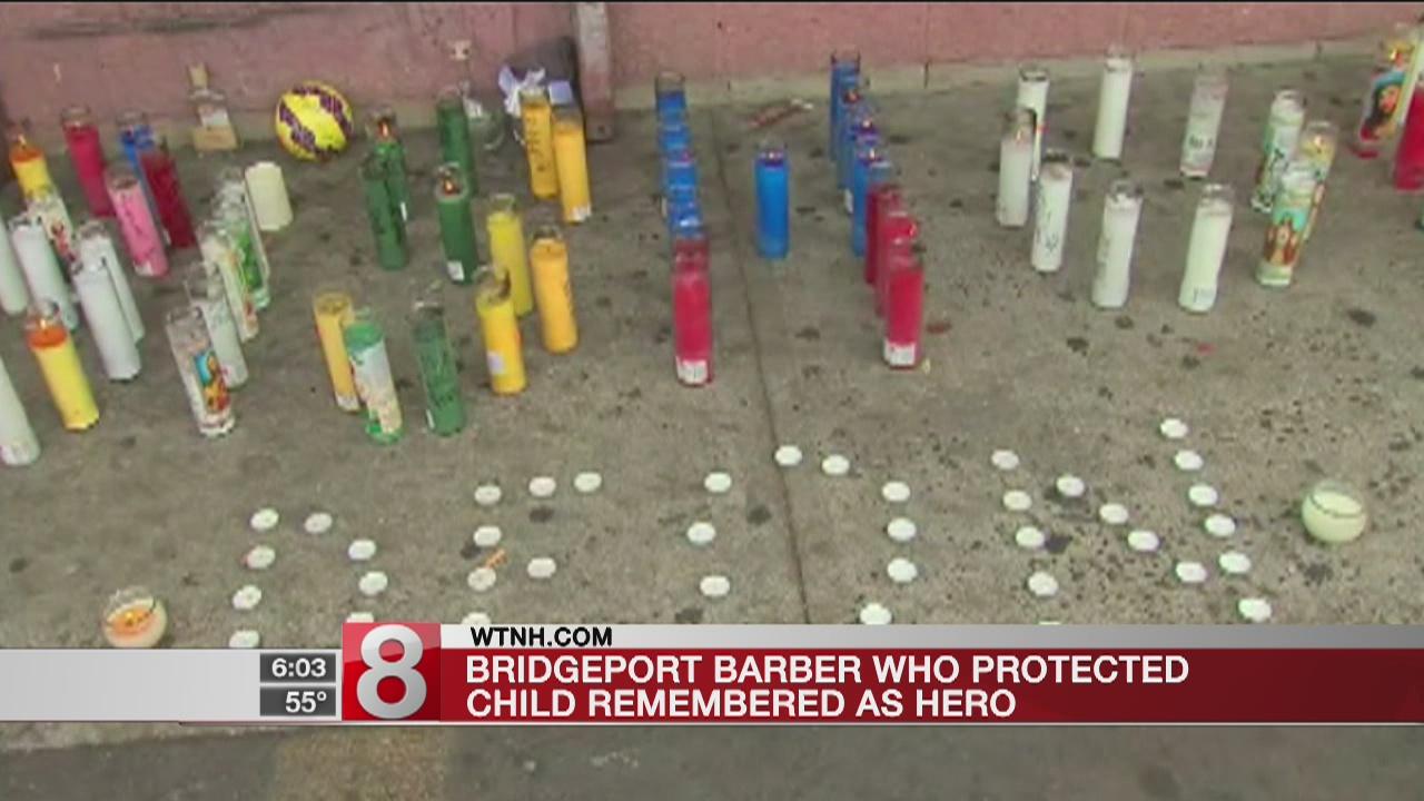Slain barber called a hero for protecting little boy