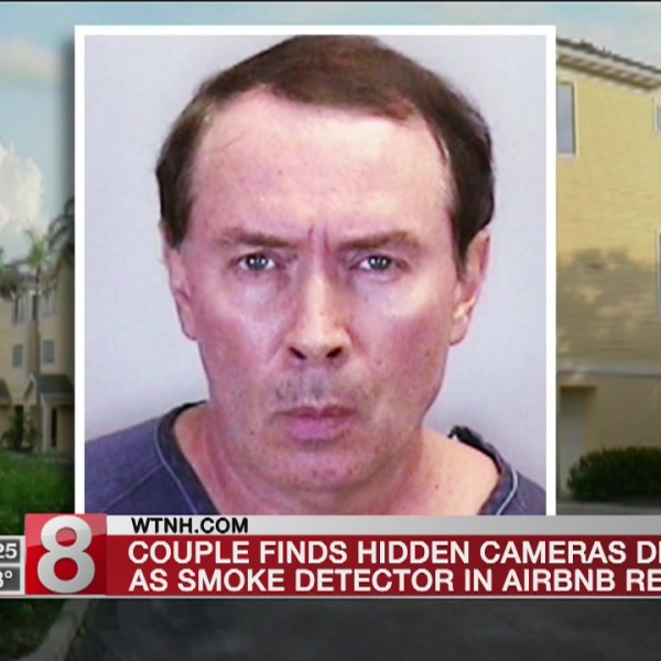 Couple find hidden camera in their Florida Airbnb