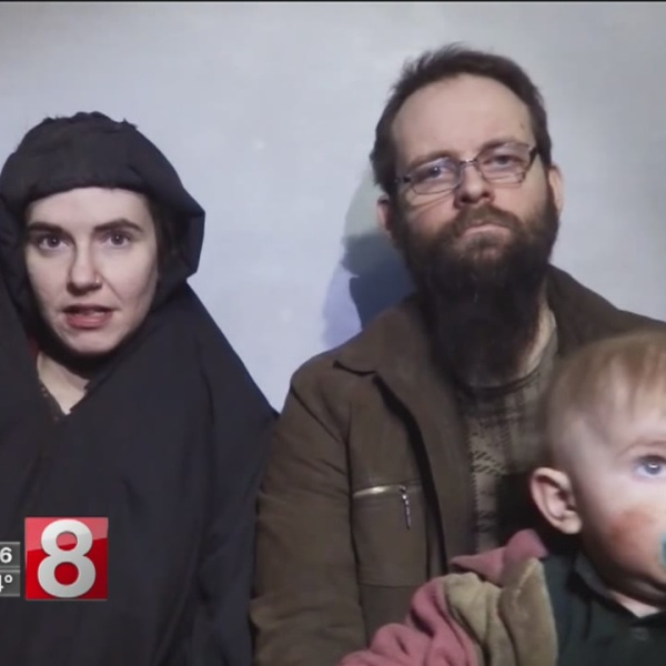American hostage and her family freed after five years in captivity