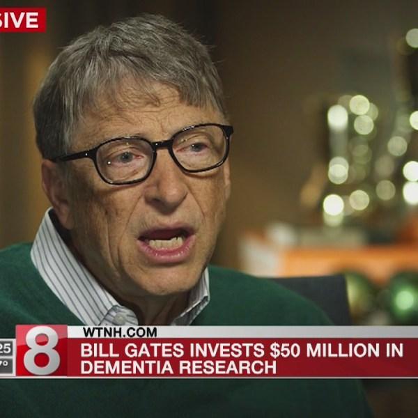 Bill Gates gives $50 million to combat Alzheimer's